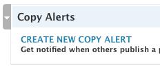 Copy Alert Sample