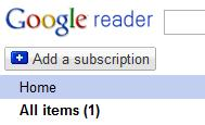Google Reader Now For Non-RSS Sites Image