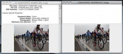 Flickr and Facebook STILL Strip EXIF Data Image