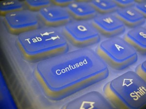 Confused Keyboard Image