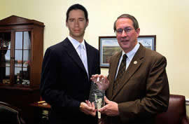 Jonathan Bailey and Bob Goodlatte