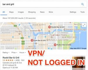 VPN Not Logged In