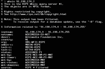 The Quiet Death of WHOIS Image