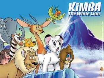Kimba the White Lion DVD Art