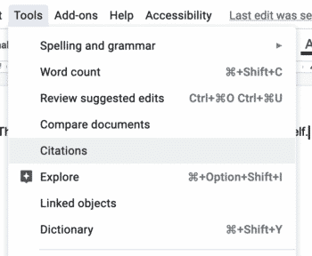 Google Docs (Finally) Adds Citation Support Image
